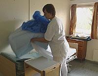 På Tynset sjukehus kan du få plass i ei seng, selv om du ikke er sjuk. (Ill.foto)