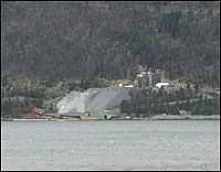Bremanger Quarry. Arkivfoto NRK