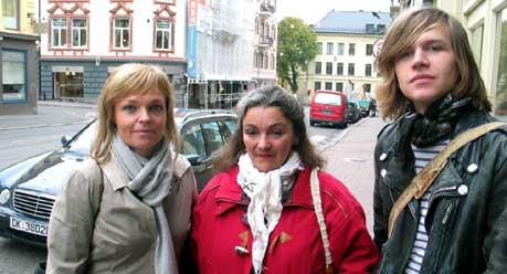 Vigdis Søvik (t.v.), Kirsten Lillo-Stenberg og Ruben Steinum har flere ting å sette fingeren på i forslaget til statsbudsjett. (Foto: Kjetil Berg, NRK)