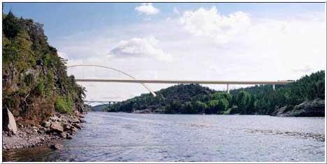Begge bruene på Svinesund skal kontrolleres. Med mer enn 160 millioner i budsjettforslaget for 2004 ser det ut til at den nye kontrollstasjonen blir ferdig til rett tid.