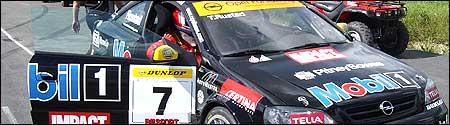 Tommy Rustad i sin STCC-bil.