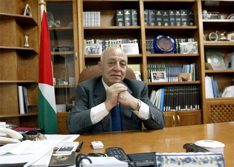Ahmed Korei leverte avskjedssøknaden sin i dag, etter to dager i statsministerstolen. (AFP-foto)