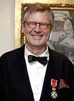 I mai ble Per Spook utnevnt til Ridder av 1. klasse av St. Olavs Orden er for sin innsats som designer. Foto: Scanpix/Knut Fjeldstad