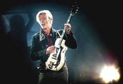 Kanskje kjem David Bowie til Oslo i år? Her frå konserten i København nyleg. Foto: AP/Nils Meilvag/Nordfoto.