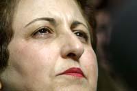Shirin Ebadi - ikke populær hos de konservative i Iran. (Foto: G. Bouys, AFP)