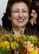 10. desember blir en travel dag for prisvinner Shirin Ebadi