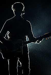 David Bowies stemme låter uforskammet godt. Foto: Thomas Bjørnflaten, Scanpix.