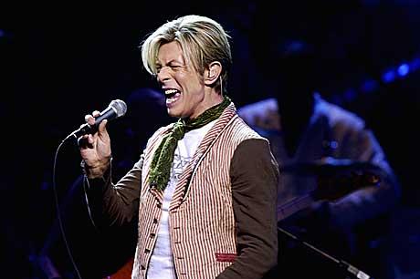 David Bowie mente alvor i Oslo Spektrum. Foto: Thomas Bjørnflaten, Scanpix.