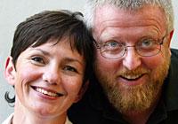 630 000 hører på Karin Wetlesen og Hans-Petter Jacobsen når de er på lufta med Nitimen. (Foto: Gorm Kallestad/Scanpix)
