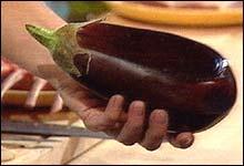 En fin aubergine...