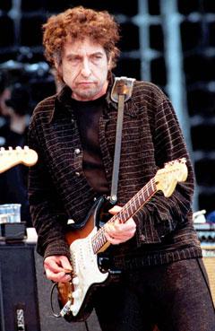 Bob Dylan er ute på sin