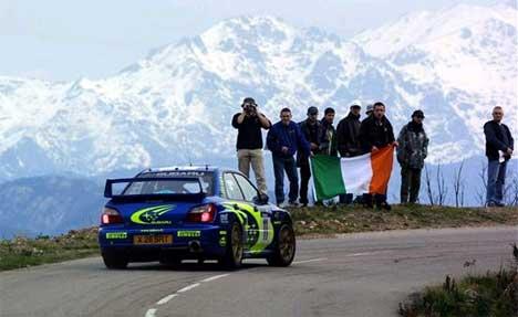 Petter Solberg ble nummer fem på Korsika i fjor. I år satser han høyere. (Foto: www.swrt.com)