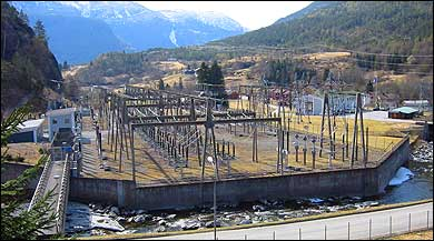 Fortun kraftverk. (Foto: Ottar Starheim, NRK © 2003)