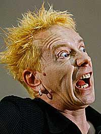 Johnny Rotten i Sex Pistols maktet ikke å gjøre et ekte comeback.Foto: Kevin Frayer, AP/Scanpix.