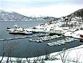 Fra Kjøpsvik i Tysfjord.