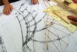 da Vinci fant opp den tekniske tegninga