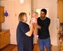 Erna Solberg besøkte familien på Kolbu.