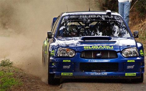 Testkjøringen foran neste sesong er i full gang for Petter Solberg og team Subaru. Kjøreferdigheter, motor, gearkasse og dekk skal være på topp før neste sesong. Foto Scanpix.