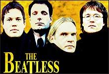 Nesten John, Paul, George og Ringo