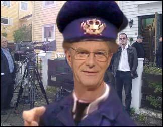 """Einar Lunde er allerede i full gang med innspillingen av oppfølgeren til """"Si hallo til Postmann Pat""""."""