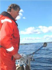 I går fikk den svenske forskeren Gøsta Kjellberg (bildet) kongens fortjenstmedalje for sitt arbeid under Mjøsaksjonen.