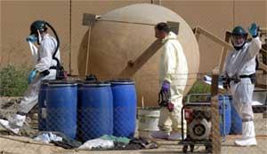 INSPISERTE: Inspektører fra FN har tidligere undersøkt atominstallasjoner i Iran. Landet har et atomprogram, men hevder de kun har fredelige hensikter. (Foto: Scanpix)