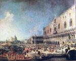 """Et annet av Canalettos """"fotografiske"""" malerier"""