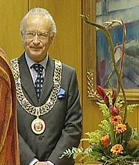 Ordfører i Bergen, Herman Friele. (Foto: NRK)