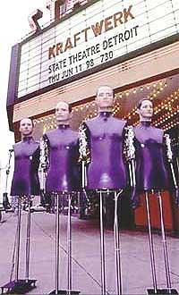 Kraftwerk spiller på Rockefeller i Oslo 12. februar.