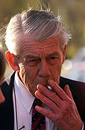 Robert Lund ble dødssyk av lungekreft. (Foto: Gorm Kallestad / SCANPIX)