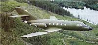 Arkivfoto av Jet Falcon
