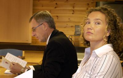 Gunnar Martin Kjenner og Ine Wigernæs (Foto: Jarl Fr. Erichsen, Scanpix)