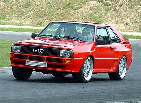 Jørn Amundsen og hans Audi Sport Quattro er med videre til finalen i Autofils superkonkurranse.