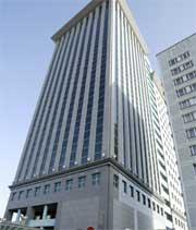 BRÅK: Det ryster i og rundt hovedkvarteret til oljeselskapet Yukos.