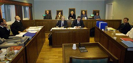 Rettssalen i Ytre Follo tingrett. Foto: Scanpix