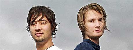 Svein Berge og Torbjørn Brundtland i Röyksopp har gjort et aldri så lite PR-kupp. Foto: Foto: Cornelius Poppe, Scanpix.