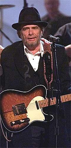 Merle Haggard startet med 37 topp ti hits på rad. Foto: Michael S. Green, AP.