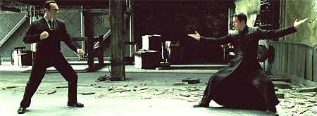 Alt det visuelle i alle tre Matrix-filmene er i regi av Bård Anders Kasin fra Notodden