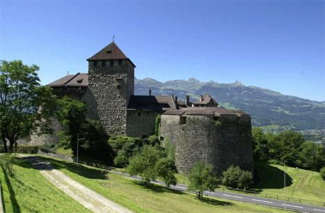 Det er mange slott og vakker natur i lilleputtstaten Liechtenstein. (Scanpix-foto)