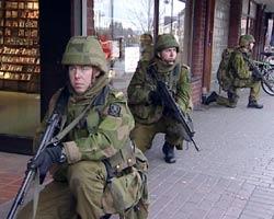 Elverum var øvelsested for Telemarkbataljonen.