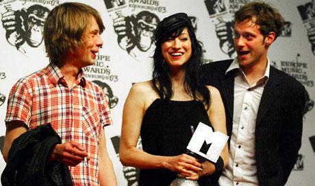 Beste video gjekk til den Islandske gruppa Sigur Ros. Foto: AFP /JimWATSON.