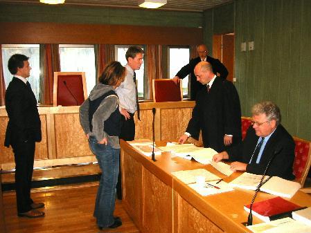 Etter fire års kamp og tre dager i retten ble det fredag forlik. Foto: Gunnar Sandvik