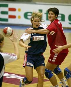 Gro Hammerseng ble kåret til banens beste spiller. (Foto: Morten Rakke / Scanpix)