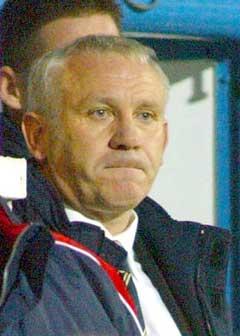 Peter Reid så Leeds tape 6-1 på lørdag. (Foto: Reuters/Scanpix)
