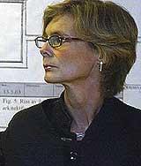 Elsbeth Bergsland, bistandsadvokaten til Derekas mor, krevde høyere erstatning enn normen. Foto: Scanpix.