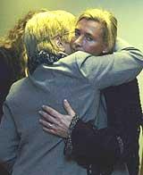 Derekas mor, Anne Rukan, har hatt den største belastningen, ble det sagt i retten tirsdag. Foto: Scanpix.