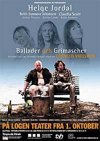 """""""Ballader Och Grimascher"""" gjør stor suksess i Bergen. Nå står Stavanger for tur. Foto: www.logen-teater.no"""