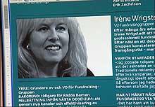 Iréne Wrigstedt i Fundraising Gruppen.