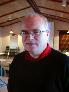 Kjell Ivar Farstad i Vindex AS vil ha bøndene med som aksjeeigarar med majoritet i eit nytt slakteri. Foto: Gunnar Sandvik