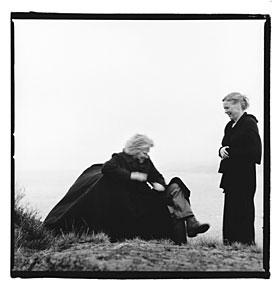 Liv Ullmann og Morten Krogvold (Foto: Morten Krogvold)